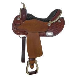 Billy Cook Barrel Saddle...