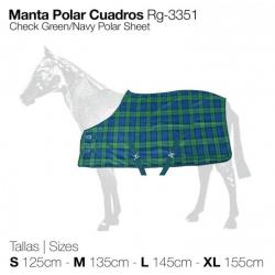 MANTA POLAR CUADROS RG-3351