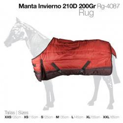 MANTA INVIERNO 210D 200gr...