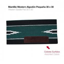 Mantilla Western Algodón