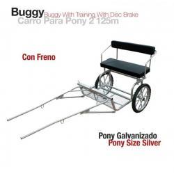 Carro Para Pony Con Freno...