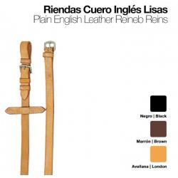 Riendas Cuero Inglés Lisas...