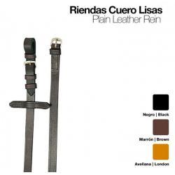 RIENDAS CUERO LISAS 1801
