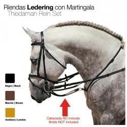 RIENDAS LEDERING CON...