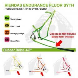 RIENDAS ENDURANCE FLUOR SYTH