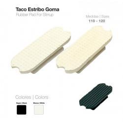 Taco Estribo Goma 21108r Par