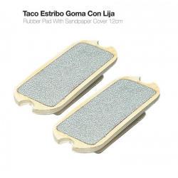 Taco Estribo Goma Con Lija...