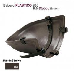 Babero Plástico Marrón S76...