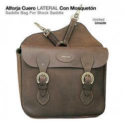Alforja Cuero Lateral Con...