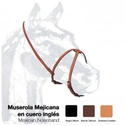 Muserola Mejicana Cuero...