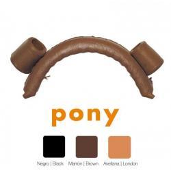 Muserola Vaquera Pasador Pony