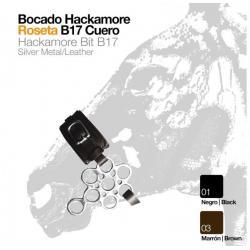 Bocado Hackamore Roseta...