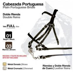 CABEZADA PORTUGUESA DOBLE