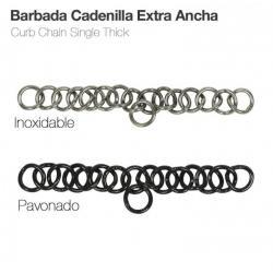 Barbada Cadenilla Extra Ancha