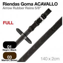 RIENDAS GOMA ACAVALLO FULL