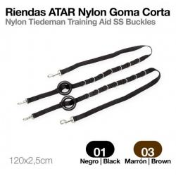 Riendas Atar Nylon Goma...