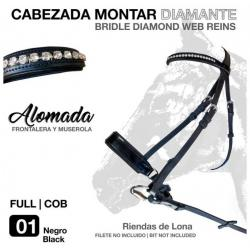 CABEZADA MONTAR DIAMANTE...