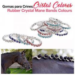 Gomas Para Crines Cristal...