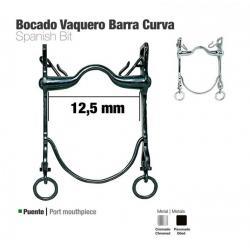 Bocado Vaquero Barra Curva