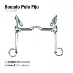 Bocado Polo Fijo Inox 212521