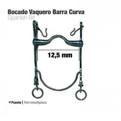 Bocado Vaquero Barra Curva...