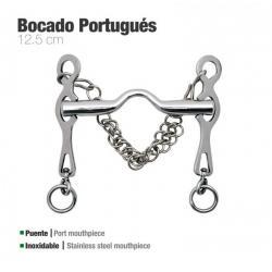 Bocado Portugués Inox Rocío