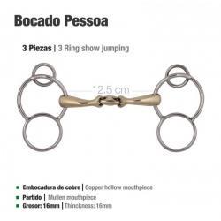 Bocado Pessoa 3-piezas &...