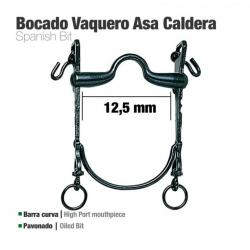 Bocado Vaquero B/curva Asa...