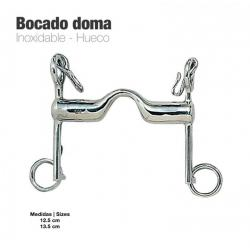 Bocado Doma Inox Hueco 219524