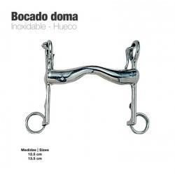 Bocado Doma Inox Hueco 21952
