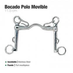 Bocado Polo Movible Inox...