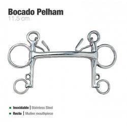 BOCADO PELHAM RECTO INOX 21250