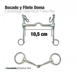 Bocado Y Filete Inox Doma...