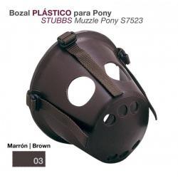 Bozal Plástico Para Pony...