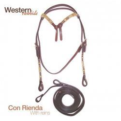 Cabezada Montar Western...