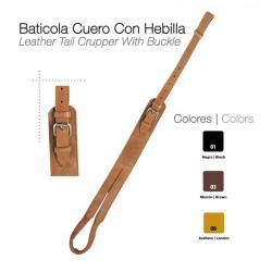 Baticola Cuero Con Hebilla...