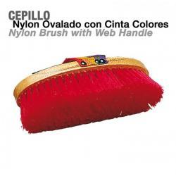 Cepillo Nylon Ovalado Con...