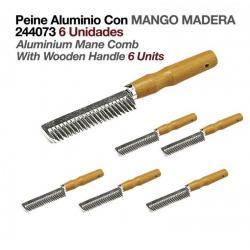 Peine Aluminio Con Mango...