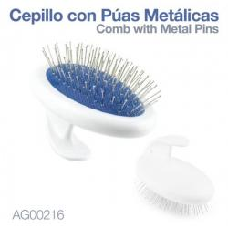 Cepillo Con Puas Metálicas...