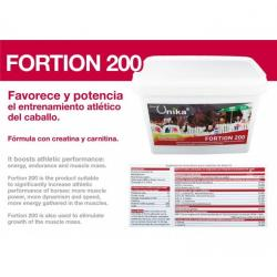 Unika Fortion 200 Creatina...