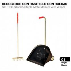 RECOGEDOR CON RASTRILLO CON...