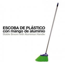 Escoba Plástico Con Mango...