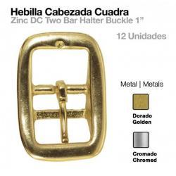 Hebilla Cabezada Cuadra 12uds
