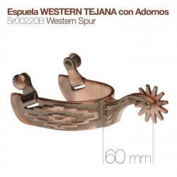 Espuela Western Tejana Con...