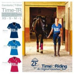 Camiseta Time-tr Básica Mujer
