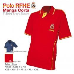 Camisa Polo Rfhe Manga Corta