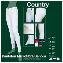 Pantalón Microfibra...