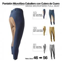 Pantalón Microfibra/cuero...