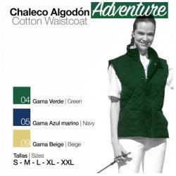 Chaleco Algodón Adventure