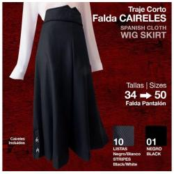 Traje Corto Falda Caireles